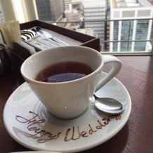 翌日朝の紅茶