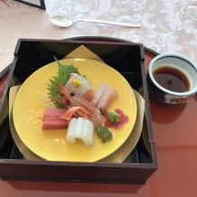 お刺身とお寿司
