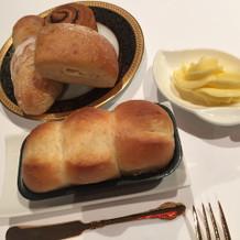 パンも美味しいです