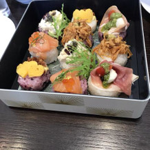 一口お寿司