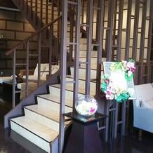 ザ・リゾート内の階段
