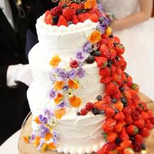 想像以上の可愛いケーキでした