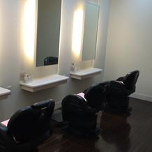 美容室も併設されていました。