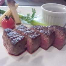 肉のソースが凄くおいしかった