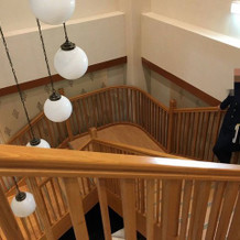 和楽殿の階段