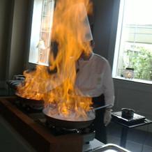 炎の演出③