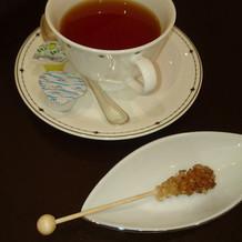 紅茶の砂糖がとにかくおしゃれ!