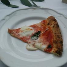 新郎新婦友人の余興で作ったピザ