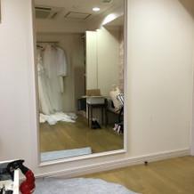お化粧室が広くて綺麗!