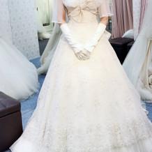 ジルスチュアートのウエディングドレス
