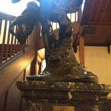 ロダンの彫刻