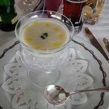 ビシソワーズのスープ