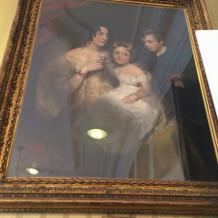 英国王室の方もご覧になったという絵画