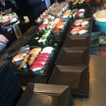 お寿司ビュッフェ