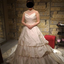基本プラン内のドレスです