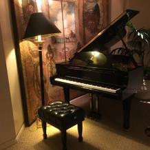 ピアノもあります。
