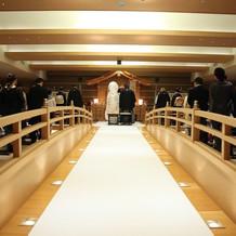 神前式会場の太鼓橋がお気に入りです