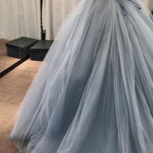 ドレス本当に素敵でした