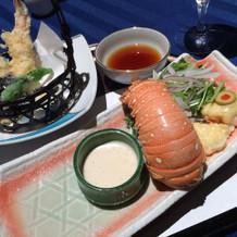 和食 ロブスター和風風味焼き 天ぷら