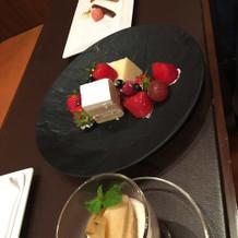 式後デザート&ケーキ