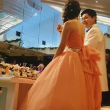 素敵な可愛いドレスを着用感できました。