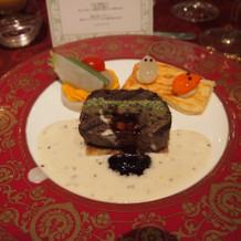 ステーキが柔らかく美味しかったです。