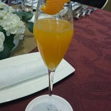 生オレンジジュース