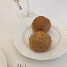 式場で作ってるお手製パン。