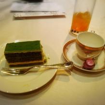 ウエディングケーキ抹茶ティラミス