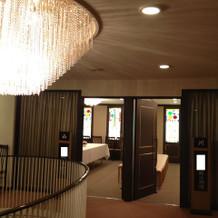 親族待合室(廊下から)