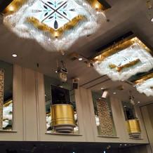 会場2の天井