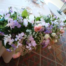 ベルビュー 高砂席のお花