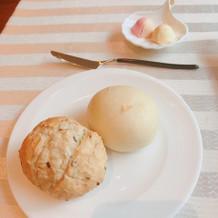 自家製バターの種類が豊富