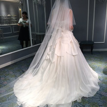 ドレスの写真です
