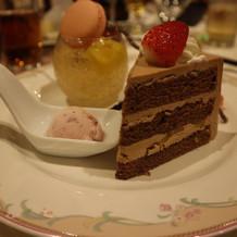 ゲスト大満足のデザート!