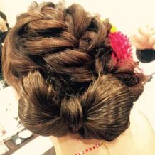 イメージ通りのヘアスタイル