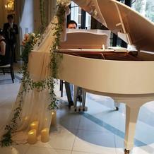 ピアノがきれい。