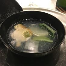 蕪のスープ。