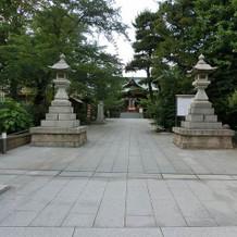 提携神社。桜神宮