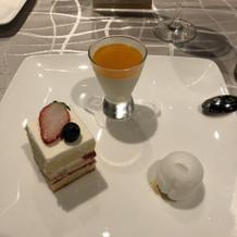 デザートも特に美味しかった