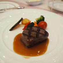 柔らかいお肉はゲストから人気でした。