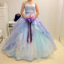 東京店で着たドレス