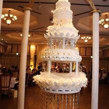 オプションのシャンデリアケーキ