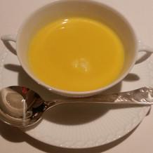 季節のもの~かぼちゃのスープ