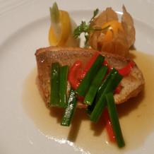 季節のお魚料理