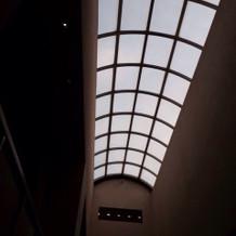 光の入る天窓