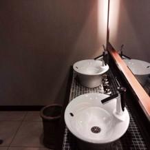 ゲスト用のお手洗い