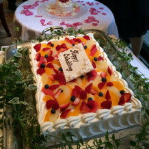 小さいケーキでまず兄弟のお手本バイト