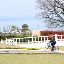 自転車入場