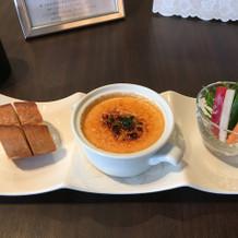 ウニのスープ